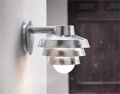 Exterior Tiered Wall Light - Downwards Ref: NXELEMENTWLDOWN
