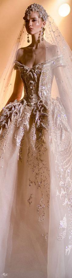 Spring 2021 Haute Couture Elie Saab Evening Dresses For Weddings, New Wedding Dresses, Evening Gowns, Haute Couture Outfits, Couture Wedding Gowns, Couture 2015, Luxury Wedding, Wedding Bride, Dream Wedding