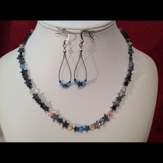 """Spotted while shopping on Poshmark: """"Handcrafted Necklace /Earrings  # 5003A""""! #poshmark #fashion #shopping #style #FireGlow Gem #Jewelry"""