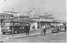 Luchthaven Schiphol ca. 1950.