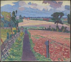 Spencer Gore 'The Cinder Path' 1912