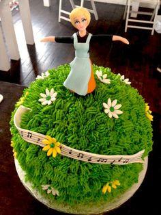 Sound of Music Birthday Cake cakes Pinterest Music birthday