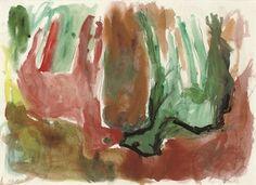 Two Deer, Georg Baselitz 1984  German Neo- Expressionist