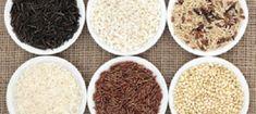 El arroz es uno de los cereales que más consumimos a diario. Normalmente utilizamos un sólo tipo, o como mucho dos. El arroz redondo y el basmati. Una minoría se atreve a preparar un arroz diferente. Vamos a ver cuantas clases de este cereal existen y... Arroz Al Curry, Grains, Rice, Food, Glutinous Rice, Seafood Paella, Food Recipes, Parboiled Rice, Pumpkin Risotto