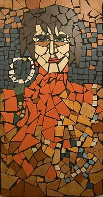mosaic- self portraits?