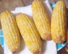 DEEP FRIED CORN, JUST PUT IT IN A DEEP FRYER GUYS! You have to  have a deep fryer. Sowwy.