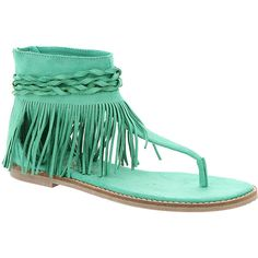 Coconuts Juno (115 CAD) ❤ liked on Polyvore featuring shoes, sandals, turquoise, toe thong sandals, woven flats, flat pumps, toe thongs and turquoise flats