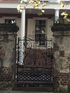 Tour of downtown Charleston gates, Charleston, South Carolina.    Abigail Reilly Photography