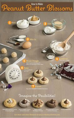 Love blossoms? Expand your Blossom Cookie recipes and try all the possibilities with these suggested combinations.