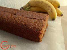 Couzinista: Light κέικ μπανάνας χωρίς ζάχαρη Healthy Snaks, Banana Bread, Food And Drink, Sugar, Diet, Muffins, Desserts, Recipes, Foods