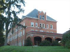 Hodges Dorm as seen from the Dell  Virginia Intermont College Bristol, VA