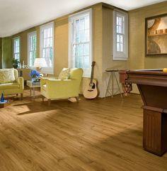 Jefferson Oak- Gunstock Luxury Vinyl  Hmmm..maybe we CAN do wood in the new bathroom....