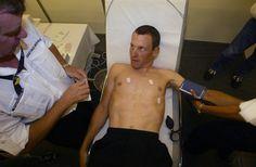 Los análisis de sangre forman parte de un régimen deportivo, de ahí se puede concluir porque el ciclista esta fatigado, también sirve para revisar...