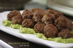 Barbacoa Meatballs with Guacamole Shared on https://www.facebook.com/LowCarbZen