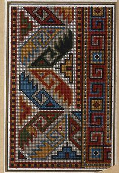 Gallery.ru / Фото #10 - старинные ковры и схемы для вышивки - SvetlanN