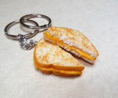 Polymer Clay Melty Grilled Cheese Best Friend by ScrumptiousDoodle