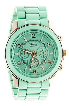 Minty watch
