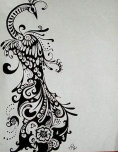 Not that I would ever get this, but it would be an AWESOME tattoo design if you wanted a peacock! by vladtodd
