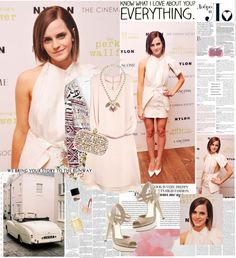 """Emma Watson ♥"" by dora04 ❤ liked on Polyvore"