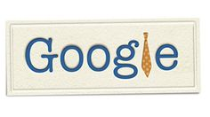 2011 Google doodle for Fathers Day. http://www.rosettabooks.com/