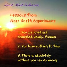 NEAR DEATH EXPERIENCE STORIES PDF