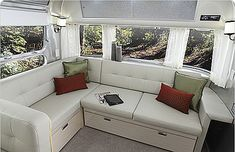 couch airstream - Google Search