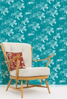 Image of Fayre's Fair Wallpaper - Lido - from mini moderns