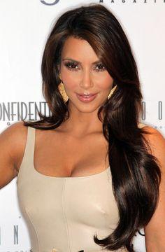 Kim Kardashian Long Curls  Kim Kardashian showed off her long curls while attending the Fall Fashion issue celebration.                                              #Long_Curls #Kim_Kardashian #Hair #LaurenJ