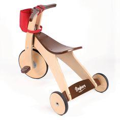 Tricycle en bois Baghera