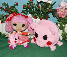 DIY Lalaloopsy Pet Pigs
