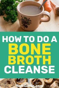 Doing a bone broth cleanse provides healthy nutrients for your body, helping you. Doing a bone broth cleanse provides healthy nutrients for your bod. Full Body Detox, Detox Your Body, Health Cleanse, Cleanse Detox, Juice Cleanse, Digestive Cleanse, Smoothie Cleanse, Workout Smoothie, Body Cleanse