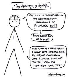 Anxiety ruins life