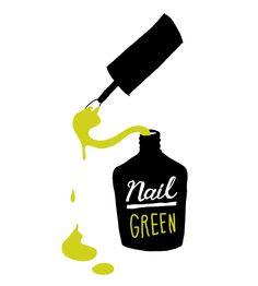 GREEN NAIL.