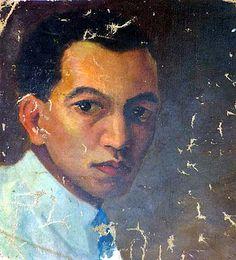 Lam, Wilfredo (1902-1982) - 1923c. Self-Portrait by RasMarley, via Flickr