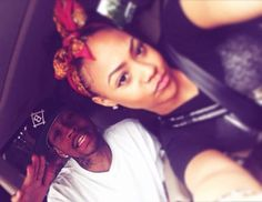 Allen Iverson with his daughter Tiaura