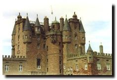 """Glamis Castle, Scotland  -known as Scotland's most haunted castle  -held by the Lyon family since the 15th century, King Malcolm II died here, the fourth Earl of Crawford;Earl Beardie;is said to have played cards with the Devil in a walled-up room  -many ghosts are reported here including the """"Monster of Glamis"""" (deformed child locked up in the tower)"""