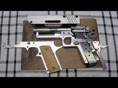 DIY Sheet Metal Self-Loading Pistol ... (Complete build) - YouTube