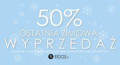 - 50% ZIMOWA WYPRZEDAŻ na eidos.pl