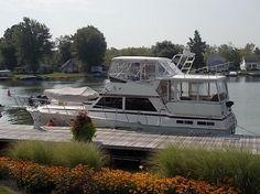 1987 Viking Yachts Motor Yacht Power Boat For Sale - www.yachtworld.com