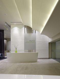 Dubai Mall Medical Centre design Interior 1. Gorgeous clean and simple