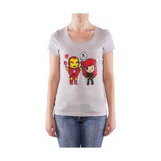Marvel X Tokidoki Black Widow Junior T-shirt (S) d2bff5fce