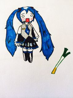 Hachune miku by SoularWolf4.deviantart.com on @deviantART