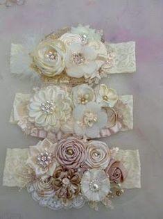 Rose Flower Felt Headband New item! Fabric Flower Headbands, Diy Baby Headbands, Lace Headbands, Flower Hair Clips, Baby Bows, Fabric Flowers, Baby Crown Headband, Baby Tiara, Christening Headband