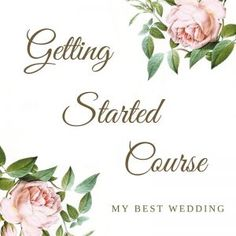 The Getting Started Course will walk you step-by-step through all of the tasks you need to start the wedding planning process. If you're not sure where to start, don't know how to budget, or need a little inspiration to get started, this course is for you! #weddingplanning #weddingplanner #weddingplanningguide
