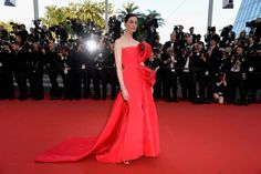 Cannes 2015 red carpet: what they're wearing on day five: Erin O'Connor in Ralph & Russo haute couture