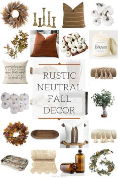 The best rustic neutral fall decorations for your home farmhouse fall decor diy dollar store farmhouse decor ideas hacks fall home decor on a budget budget decor diy dollar dollarstore fall farmhouse hacks home ideas store Decoration Ikea, Decoration Bedroom, Decoration Design, Rustic Fall Decor, Fall Home Decor, Autumn Home, Modern Fall Decor, Autumn Diy Room Decor, Rustic Decorations For Home