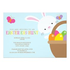 Easter Egg Hunt Invitations Easter Egg Hunt Invitation