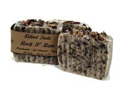 Rockin Rose Soap, Rose Soap, Clay Soap, Face Soap, Soap for Her, Gifts for Her, Rose Face Soap, Natural Face Soap, Luxury Soap, Spa Gift - pinned by pin4etsy.com