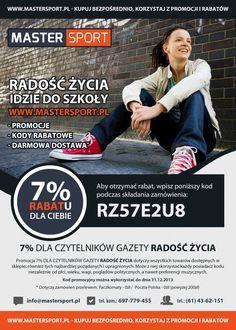 Od firmy http://www.mastersport.pl/ - kod rabatowy ;)
