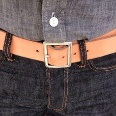 #weargustin #classic #belt #21black2 #selvedge #denim #jcrew #chambray
